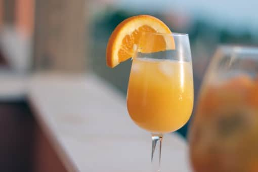 mimosa drink cocktail